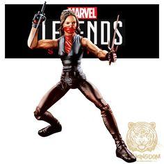 ELEKTRA  Marvel Legends Knights/Netflix Series 6 Loose Figure  BAF MAN-THING