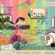 {03.16.12} Isn't this Quirky Twerp Fabrications de Joie kit pretty?