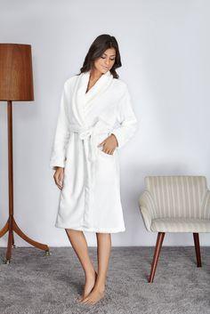 Para noites de conforto e relax, robes quentinhos!