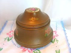 Antique Lady's Powder Box / Music Box / by VintageLoversShop, $25.00