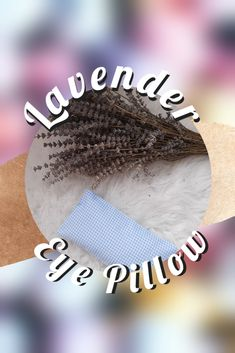 Gingham Lavender Eye Pillow Lavender Pillow, Lavender Seeds, Gingham, Pillows, Eyes, Trending Outfits, Unique Jewelry, Handmade Gifts, Vintage