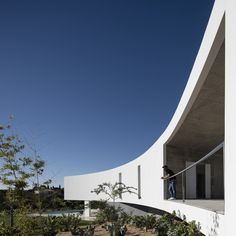 Image 1 of 59 from gallery of House in Alcalar / Vitor Vilhena Arquitectura. Photograph by Fernando Guerra Residential Architecture, Amazing Architecture, Modern Architecture, Portugal, Arch House, Nice View, 1, Exterior, Gallery