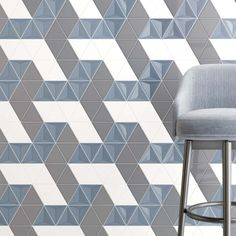 Scandiano Triangles | STORM Verso Glossy + CHARCOAL Piano Glossy + WHITE Piano Glossy Scene 13 3d Wall Tiles, Concrete Forms, Sales Representative, Hand Molding, Corrugated Metal, Wall Finishes, White Bodies, White Tiles, Color Tile