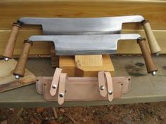 #DrawKnives for #LogBuilding from @KingsbridgeSupply, super sharp blades for quick and effortless cutting and shaping. They ensure maximum safety and comfort in a variety of uses.  http://www.kingsbridgesupply.com/log-building-tools/draw-knives