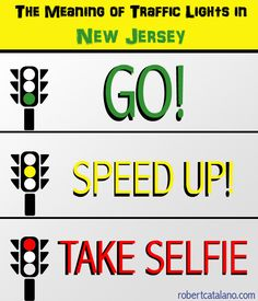 The Meaning of Traffic Lights in New Jersey - Robert Catalano