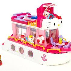 Mega Bloks Hello Kitty Cruise Ship | Kids Cool Toys