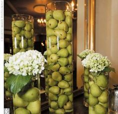 Nicoles Wedding Ideas Non Floral Centerpieces