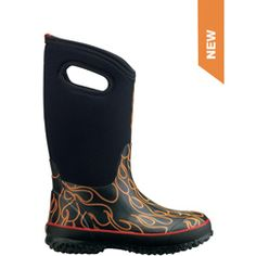 Alaska parents know: Bogs Boots keep feet warm and dry, even when it's -20 F outside!