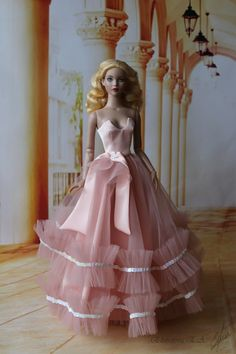 """Handmade gown/dress/outfit for Tonner Doll with Tyler body 16"""" in Dolls & Bears, Dolls, Clothes & Accessories, Modern, Other Modern Doll Clothing   eBay"""