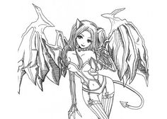 Google Image Result for http://www.cartoon-coloring-page.com/wp-content/uploads/2012/08/Dark-angel-coloring-page.jpg