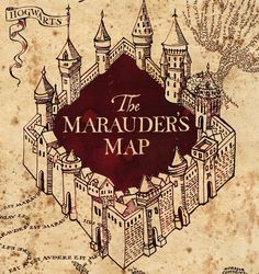 Imagine*Mary: Marauders Map Castle Free SVG ~ Studio