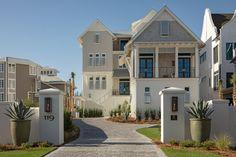 Florida-Dream-Beach-House Cabinet Paint Colors, Kitchen Paint Colors, Ro Sham Beaux, White Coverlet, Artistic Tile, Dream Beach Houses, Redford House, Visual Comfort, Painting Cabinets