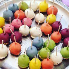 #rainbow#cakepops