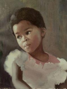 Portrait of a Girl by Elizabeth Hristova