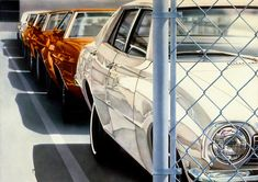 Incredibly Realistic Car Paintings by Don Eddy | Inspiration Grid | Design Inspiration