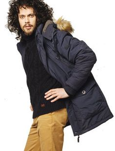 A superb wardrobe addition for the winter.  This jacket is fully padded and features a nifty detachable hood which can offer three distinct looks (hoodless, hood with fur or a hood without fur).  #Vedoneire #Parka #Fashion #Irish #Ireland #Menswear #MensFashion #BlackFriday #Winter #Jacket #WinterJacket