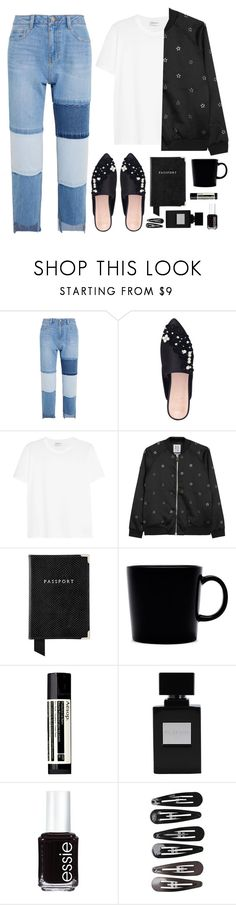 """""""loafers"""" by pizzabbyx ❤ liked on Polyvore featuring Steve J & Yoni P, KG Kurt Geiger, Yves Saint Laurent, Zoe Karssen, Aspinal of London, iittala, Aesop, Essie and Clips"""