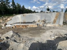"""Jake Barkley, principal founder of Kasota Stone, describes the company's Superior Northern granite as """"a deposit of rare quality."""" Stone Quarry, Lake Superior, Sustainable Design, Continents, Granite, Minnesota, Natural Stones, Discovery, Sustainability"""