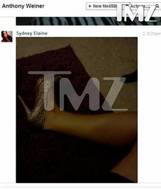 Sydney Leathers Get representation by an agent (same one for Octomom and for tan mom) Another photo that 23-year-old Sydney Elaine Leathers said she sent to Anthony Weiner in July 2012.