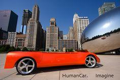 """Human powered """"car"""""""
