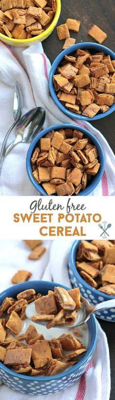 Making your own gluten-free cereal is so easy and super healthy! Packed with vitamin A, this sweet potato cereal is the perfect breakfast to power through your day!