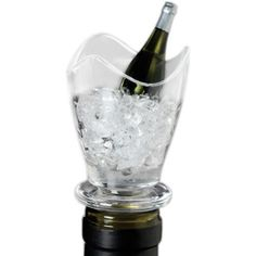 Prodyne Salsa Acrylic and Silicone Wine Bottle Stopper by Prodyne. $11.50. Wipe clean. Acrylic and silicone construction. Prodyne Salsa Wine Bottle Stopper. Hand decorated design Fits any standard wine bottle. Hand decorated design; Fits any standard wine bottle. Keep a tight seal on your leftover wine with the Prodyne Salsa wine bottle stopper. This stopper is made of silicone, which is flexible to give it a secure seal to keep that bottle of wine fresh. The hand deco...
