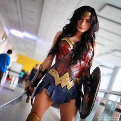 Wonder Woman Cosplay by Ross Diong Photo: Jemarc Mojica | Photography — with Jack Lopez.