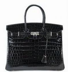 Luscious blog pictures - hermes birkin black croc bag.jpg