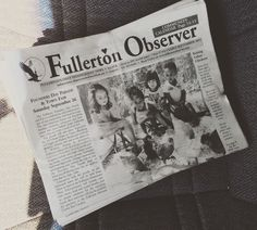 Here's how the impossible happend! Front Page on Fullerton Observer !!