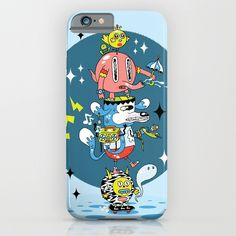 Skate Squad iPhone & iPod Case by Frenemy | Society6