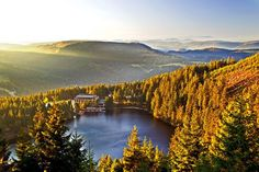 Mummelsee in the Northern Black Forest