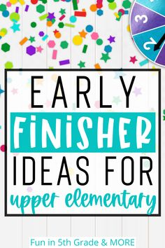 Early finisher activities are always a struggle with back to school!  I have some great ideas on how to get your students to be independent when they are finished with their work and to find something appropriate to work on.  The anchor chart works great to give your students choices that are fun!  Included are lots of other great activities to keep your students engaged while their classmates are finishing their work! Rounding Activities, Anchor Activities, Activities For Kids, Elementary Science Classroom, Upper Elementary, Math Websites, Early Finishers Activities, Math Strategies, Help Teaching
