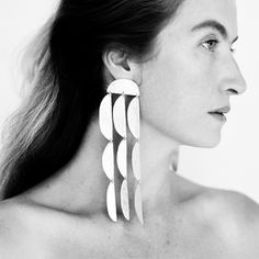 Browse all products in the EARRINGS category from Annie Costello Brown. Contemporary Jewellery, Modern Jewelry, Jewelry Art, Jewelry Accessories, Fine Jewelry, Fashion Jewelry, Jewelry Ideas, Jewlery, Bijoux Design