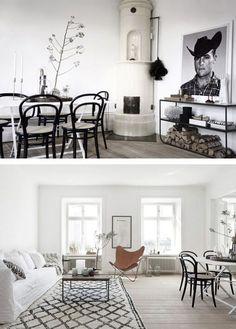 black & white scandinavian decor sfgirlbybay lifestyle & design blog