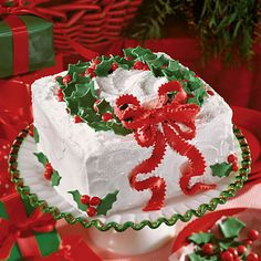Our Best Christmas Cakes http://www.myrecipes.com/holidays-and-occasions/christmas-recipes/best-christmas-cakes-00420000007150/