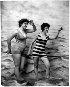 Very old Photo of Bathing Beauty's.