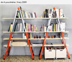 Great use of old ladders