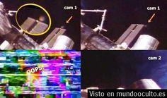 #OVNI con forma de disco cerca de la ISS  29 de agosto 2014 ||| #UFO #OVNIs #UFOs #Enigmas y #Misterios del #Mundo ...