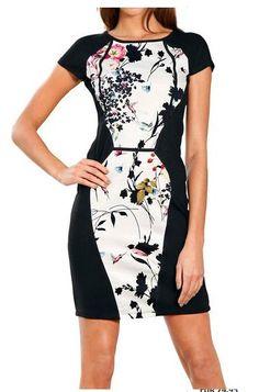 b45245b3fc2952 Koop Travel Couture - Impriméjurk multicolour in de Heine online-shop