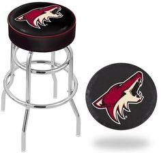 Arizona Coyotes NHL D1 Retro Chrome Bar Stool