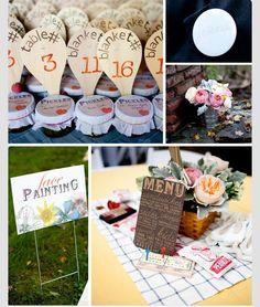 campsite picnic ideas