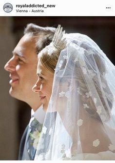 Religious Ceremony, Religious Wedding, Civil Ceremony, Wedding Ceremony, Dior Gown, Tiara Hairstyles, Grand Duke, Royal Weddings, Wedding Pictures