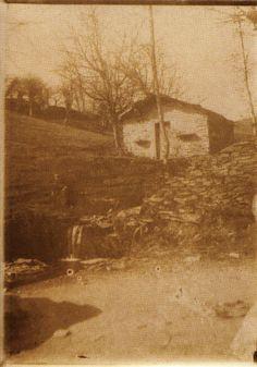 Paisaxe , Lugo. Ca. 1910. Xelatina de prata ao clorobromuro. 18 x 13 cm.