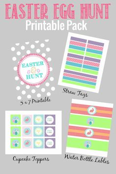 Easter Egg Hunt Printable Pack