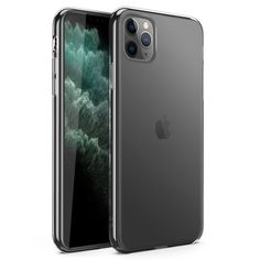Refine Series by Zizo Slim Clear Case with PC Metallic Bumper, Clear for Apple iPhone 11 Pro Max Iphone 9, Apple Iphone, Iphone Cases, Iphone Background Vintage, Xmas Wishes, Apple Products, Metallic, Slim, Natural Living