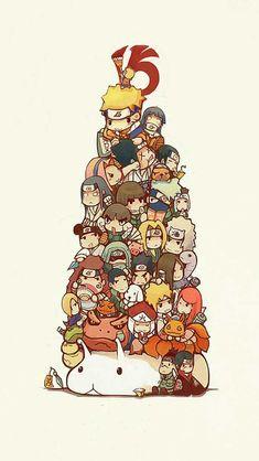 Naruto characters chibi