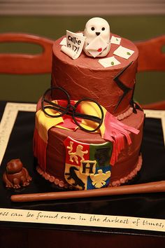 Harry Potter birthday cake | Flickr - Photo Sharing!
