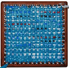 Recycled Plastic-Bag Weaving | Syne Mitchell