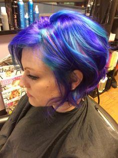 My hair! Pravana vivids color melt. Hair by Bri Davila, Pearland Texas.