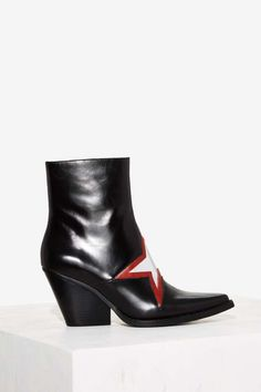Jeffrey Campbell Gazer Leather Boot | Shop Shoes at Nasty Gal!